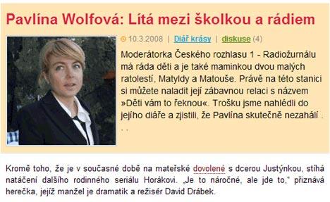 Pavlína Wolfová