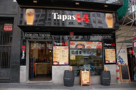 Tapas 44, Gran Vía, Madrid